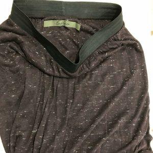 Enza Cost heathered cotton miniskirt